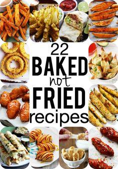 22 Baked-NOT-Fried versions of classic comfort foods!!  | Creme de la Crumb