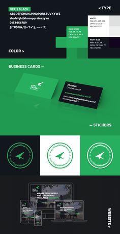 Pathfinders Type, Color, Stickers & Website for desktop