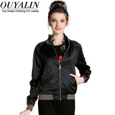 L- 5XL Back Luxury Sequines Satin Bomber Jacket Autumn Short Coat Baseball Outwear Sukajan Like if you remember http://www.artifashion.net/product/l-5xl-back-luxury-sequines-satin-bomber-jacket-autumn-short-coat-baseball-outwear-sukajan/ #shop #beauty #Woman's fashion #Products