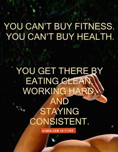 Consistency and hard work is what will get you there!