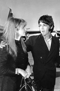 Paul with Jane Asher, should have stayed with Jane. ..