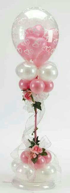 # balloon-column # balloon-decor # balloon-wedding-decor # balloon-topiary: - New Sites Balloon Topiary, Balloon Centerpieces, Balloon Columns, Birthday Decorations, Wedding Decorations, Wedding Centerpieces, Ballon Arrangement, Wholesale Balloons, Qualatex Balloons