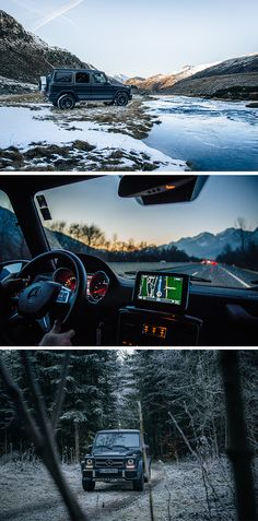Knows no obstacles - The Mercedes & 63. Photos by Florian Haizmann (www.prismview.de) for #MBsocialcar [Mercedes-AMG G 63   Fuel consumption combined: 13.8 l/100km   combined CO₂ emissions: 322 g/km   http://mb4.me/efficiency_statement]
