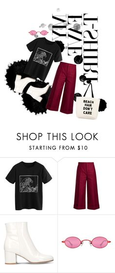"""""""waves"""" by angel534 on Polyvore featuring Marni, Gianvito Rossi, Fallon & Royce and MyFaveTshirt"""