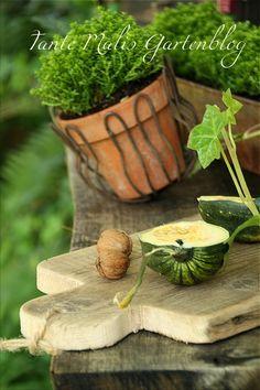 Tante Malis Gartenblog Jausenbretter aus alten Balkonbrettern