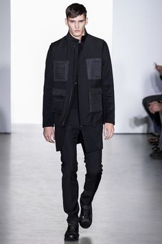 Calvin Klein Collection fall 2013 mens fashion #calvinkleincollection #milanfashionweek