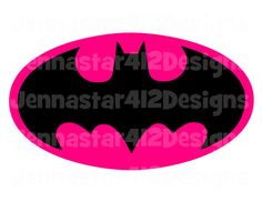 Super Hero Logo Batgirl DIY Printable Iron On Transfer Digital File on Etsy, $3.00