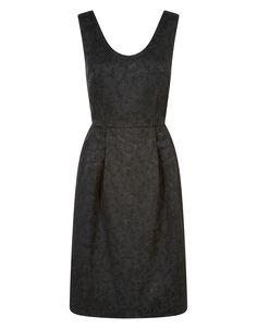 Jessie Jacquard Dress | Black | Monsoon