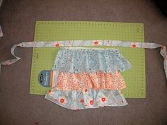 another ruffled apron tutorial