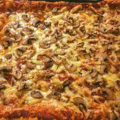 Грибная пицца наоборот))  #ГодовойЗапасFairy #рецепты