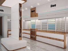 Pharmacy Design on Behance Shelf Design, Display Design, Store Design, Mobile Shop Design, Electrical Shop, Jewellery Shop Design, 3d Interior Design, Retail Shelving, Medical Design