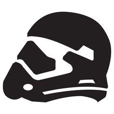 Star Wars Episode VII: The Force Awakens Stormtrooper Helmet 4-inch St – Whipps Sticker Co.