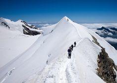 Castor, 4,228 m (13,871 ft), Monte Rosa, Switzerland