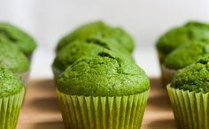 Matcha green tea muffins recipe