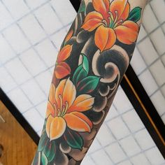 japanese tattoos for strength Japanese Water Tattoo, Japanese Flower Tattoo, Japanese Dragon Tattoos, Japanese Tattoo Designs, Japanese Sleeve Tattoos, Japanese Flowers, Tattoo L, Forarm Tattoos, Irezumi Tattoos