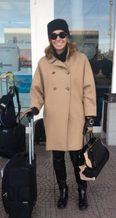 cristina parodi Airport Attire, Airport Chic, Travel Chic, Travel Style, Italian Women, Charlotte, Cute Outfits, Dressing, Normcore