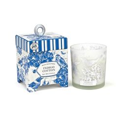 Buy Michel Design Works Indigo Cotton Candle 6.5oz at affordable rate. Choose from our wide range of Candles from ASecretAdmirer.com