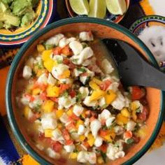 Ceviche de pescado con mango @ allrecipes.com.mx