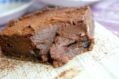 Healthy No bake Chocolate cashew cake