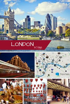 London TOP travel tips. Discover the best London attractions in our 3 days London getaway travel itinerary. Feel like adjusting plan? Go ahead :-) Tripomatic offers you to be your own travel guide. #visitLondon #traveltips #inspiration