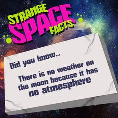 Strange Space Facts #1 to guide you towards cosmic ways to win.