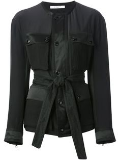 You'll find a great selection of designer fitted jackets at Farfetch. Search from over 2000 designers for all the latest in womens fitted jackets Givenchy Jacket, Jacket Buttons, Black Button, Designing Women, Leather Jacket, Coat, Fitness, Outerwear Jackets, Shopping