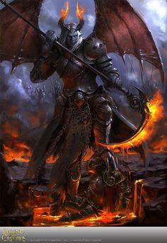 Demonio legend of the cryptids