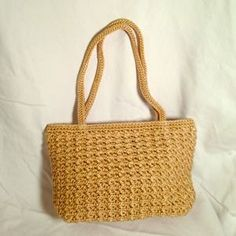The Sak Handbags Small Crocheted Bag By Beige W Gold 16