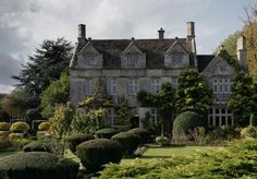 Barnsley House, Barnsley, Cirencester, Gloucestershire.  Built 1697, now a country hotel.