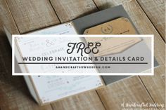 Who knew how easy it would be to learn how to add text to DIY invitations with PicMonkey! ahandcraftedwedding.com