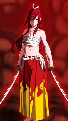 Fairy Tail 322 - Erza Scarlet by on DeviantArt Fairy Tail Jerza, Anime Fairy Tail, Fairy Tail Erza Scarlet, Fairy Tail Funny, Fairy Tail Art, Fairy Tail Girls, Fairy Tail Family, Fairy Tales, Erza Scarlet Armor