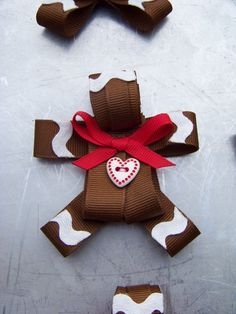 Gingerbread Man Ribbon