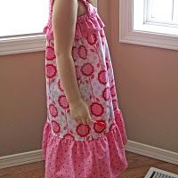 The blog says it's a one hour Sundress tutorial...maybe a bit advanced