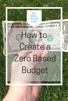 How to Plan and Create a Zero Based Budget for all Incomes