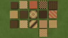 Minecraft Floor Designs, Minecraft Pattern, Minecraft Banner Designs, Minecraft Blocks, Minecraft Interior Design, Minecraft Banners, Minecraft Modern, Minecraft Room, Minecraft Decorations