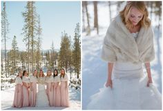 Laura Murray - winter bride