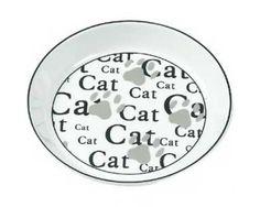Keramikkskål Cat & Potemønster 16 cm