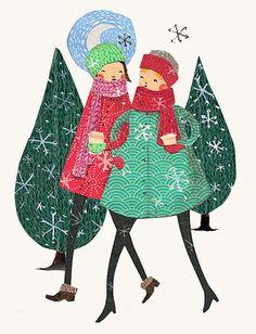 Cute Christmas card inspiration