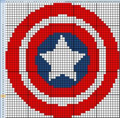 Captain America Graph