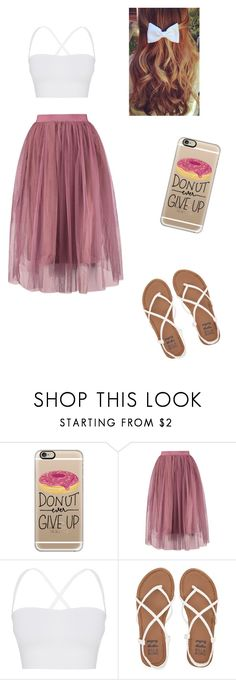 """""Donut"" ever give up!!!"" by aashee333 ❤ liked on Polyvore featuring Casetify, Theory and Billabong"