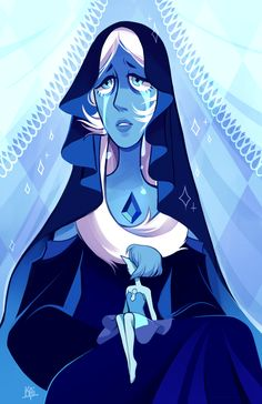 Blue diamond is so beautiful  Here's the speedpaint of this!