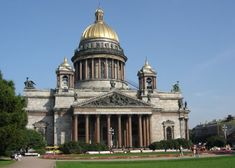 Saint Isaac's Cathedral, Saint Petersburg (Russia)