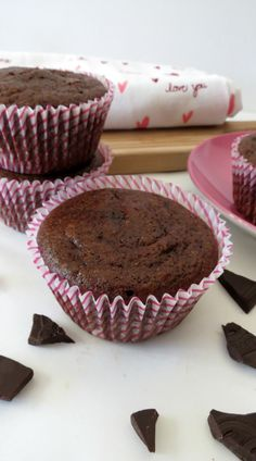 Chocolate Mocha Muffins - A moist espresso chocolate muffin with a hint cinnamon and dark chocolate chips.