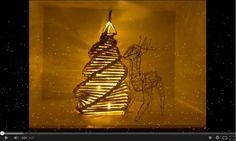 Árbol de navidad hecho con papel de periódico - GamingLifeformDE
