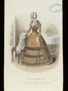 Fashion plate   Franz Zastiera, 24 September 1846   V&A Search the Collections