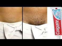 NO SHAVE! NO WAX! REMOVE ALL UNWANTED HAIR WITH TOOTHPASTE - YouTube