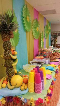 Food table idea