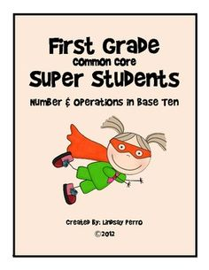 1st Grade Common Core Instructional Plan for Number and Op