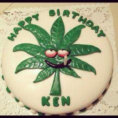 Funny weed cake I made