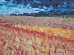 """David Grieve, Good Heavens 22, 18"""" x 24"""", oil on canvas"""